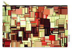 Modern Abstract Art Xvii Carry-all Pouch by Lourry Legarde