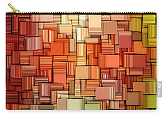 Modern Abstract Viii Carry-all Pouch by Lourry Legarde