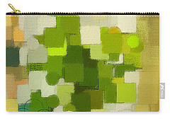 Modern Abstract Xxxv Carry-all Pouch by Lourry Legarde