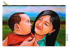 Mom And Babe Carry-all Pouch