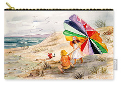 Moments To Remember Carry-all Pouch by Marilyn Smith