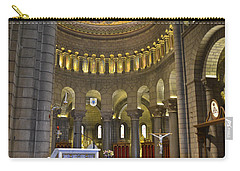 Carry-all Pouch featuring the photograph Monaco Cathedral by Allen Sheffield
