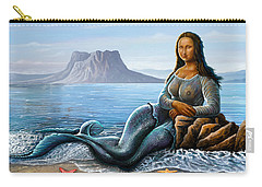 Monalisa Mermaid Carry-all Pouch
