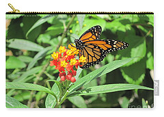 Monarch At Rest Carry-all Pouch