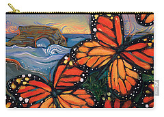 Monarch Butterflies At Natural Bridges Carry-all Pouch