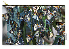 Monarch Butterflies Natural Bridges Carry-all Pouch