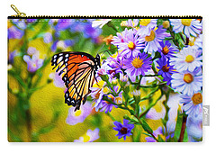 Monarch Butterfly 4 Carry-all Pouch