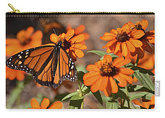 Carry-all Pouch featuring the photograph Bold And Beautiful by Carol  Bradley