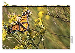 Monarch Hatch Carry-all Pouch by Daniel Sheldon