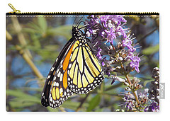 Monarch On Vitex Carry-all Pouch