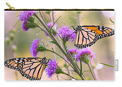 Monarch Pair Carry-all Pouch