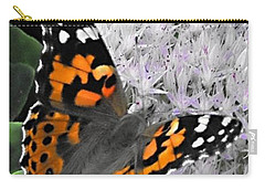 Carry-all Pouch featuring the photograph Monarch by Photographic Arts And Design Studio