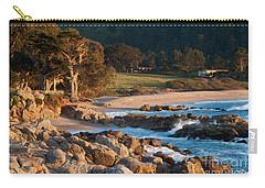 Monastery Beach In Carmel California Carry-all Pouch