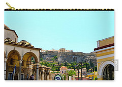 Monastiraki - Athens Carry-all Pouch by Corinne Rhode