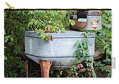 Monday Is Laundry Day Carry-all Pouch by Lynn Sprowl
