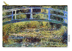 Monet's Bridge Carry-all Pouch