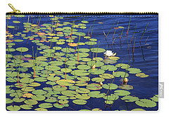 White Water Lilies Carry-all Pouch