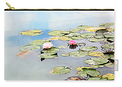 Carry-all Pouch featuring the photograph Monet's Garden by Brooke T Ryan