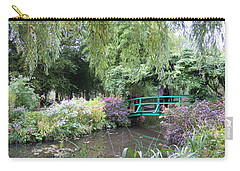 Monet's Japanese Bridge Carry-all Pouch