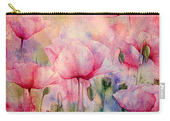 Monet's Poppies Vintage Warmth Carry-all Pouch