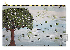 The Money Tree Carry-all Pouch by Jeffrey Koss