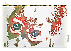 Monkey Pop Art Carry-all Pouch by Catherine Lott