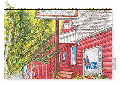 Mono Market Near Mono Lake In Lee Vining-california Carry-all Pouch