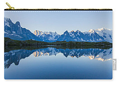 Mont Blanc Massif Panorama Carry-all Pouch by Mircea Costina Photography