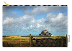 Mont Saint-michel Carry-all Pouch by RicardMN Photography