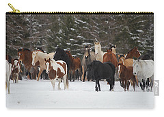 Montana Herd Carry-all Pouch by Diane Bohna
