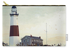 Carry-all Pouch featuring the photograph Montauk Dusk by Keith Armstrong