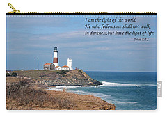 Montauk Lighthouse/camp Hero/inspirational Carry-all Pouch