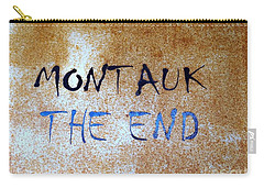 Montauk-the End Carry-all Pouch