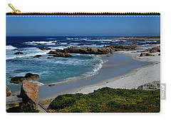 Carry-all Pouch featuring the photograph Monterey-1 by Dean Ferreira