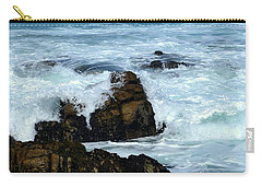 Carry-all Pouch featuring the photograph Monterey-2 by Dean Ferreira