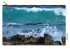 Carry-all Pouch featuring the photograph Monterey-3 by Dean Ferreira