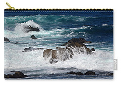 Carry-all Pouch featuring the photograph Monterey-6 by Dean Ferreira