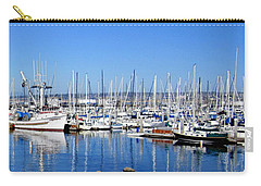 Carry-all Pouch featuring the photograph Monterey-7 by Dean Ferreira
