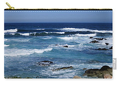Carry-all Pouch featuring the photograph Monterey-9 by Dean Ferreira