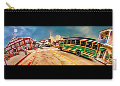 Monterey And Cable Car Bus Carry-all Pouch