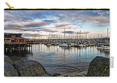 Carry-all Pouch featuring the photograph Monterey Marina California by Kathy Churchman