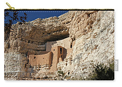 Carry-all Pouch featuring the photograph Montezuma Castle by Penny Meyers
