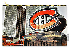 Montreal C Carry-all Pouch by Alice Gipson