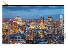 Montreal Panorama Carry-all Pouch by Mihai Andritoiu