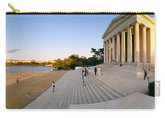 Monument At The Riverside, Jefferson Carry-all Pouch by Panoramic Images