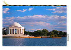 Monument On The Waterfront, Jefferson Carry-all Pouch by Panoramic Images