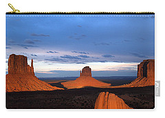 Monument Valley @ Sunset 2 Carry-all Pouch
