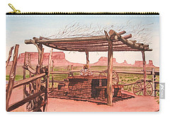 Monument Valley Overlook Carry-all Pouch by Mike Robles