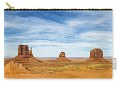 Monument Valley Panorama - Arizona Carry-all Pouch