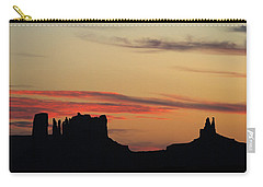 Monument Valley Sunset 1 Carry-all Pouch